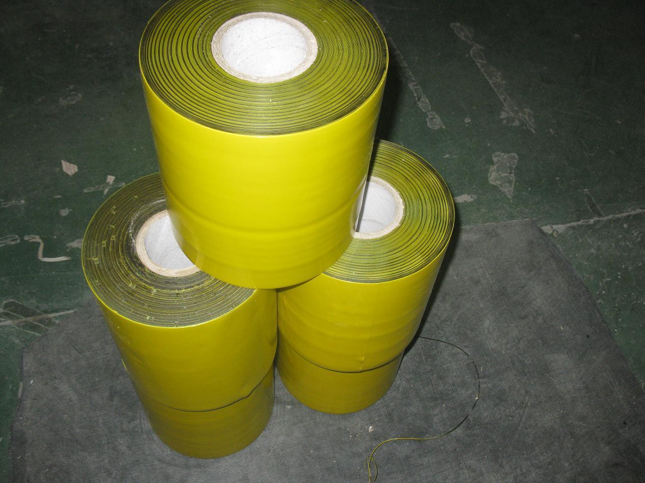 Polyethylene Yellow Anti Corrosion Pipe Wrap Tape