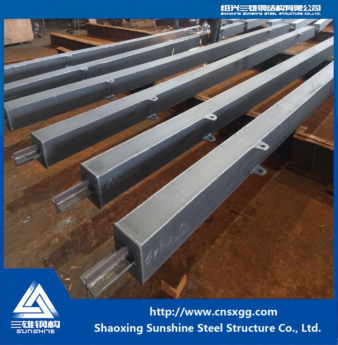 Steel Structure Energy Dissipation Brace with Steel Beam for Prefabricated Warehouse
