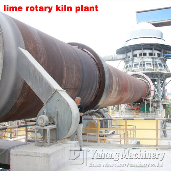 2016 Yuhong 100- 600tpd Lime Rotary Kiln for Lime Kiln Plant