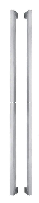 Satin Finish Stainless Steel Door Handle (ZY-166)