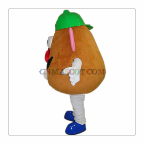 Mr Potato Head Cartoon Mascot Character Costume Good Quality
