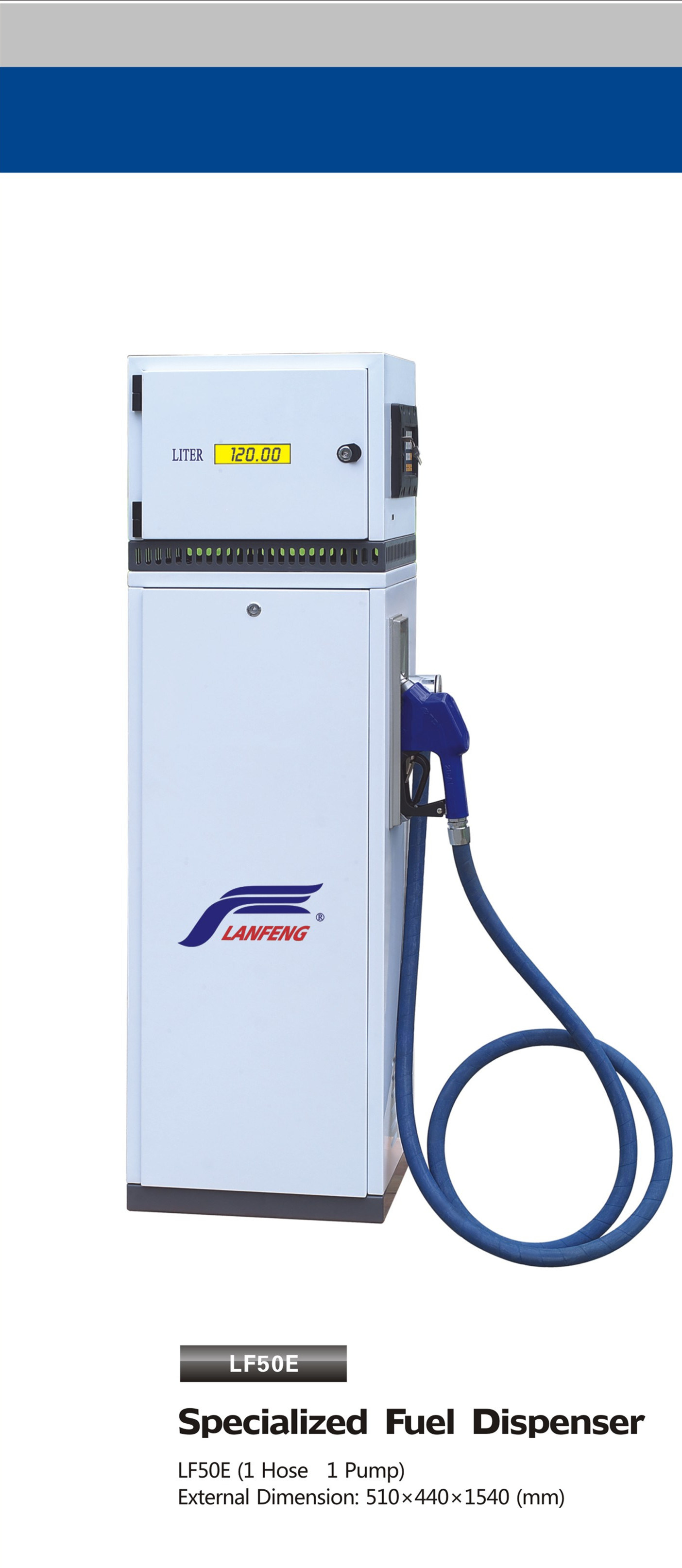 Small Type Series Fuel Dispenser Lf50e