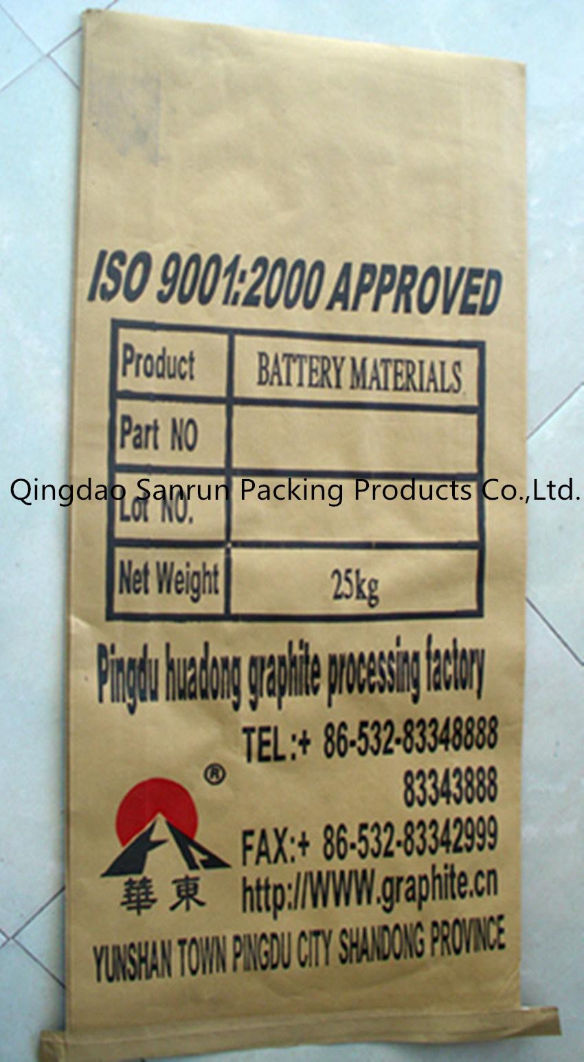 Graphite Powder Paper-Plastic PP Woven Bag