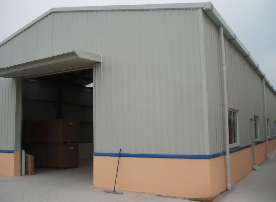 Prefabricated Large Span Light Steel Structure Seed Warehouse