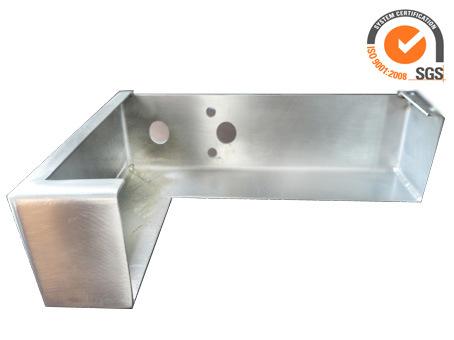 Aluminium Laser Cutting and Bending Machining Part