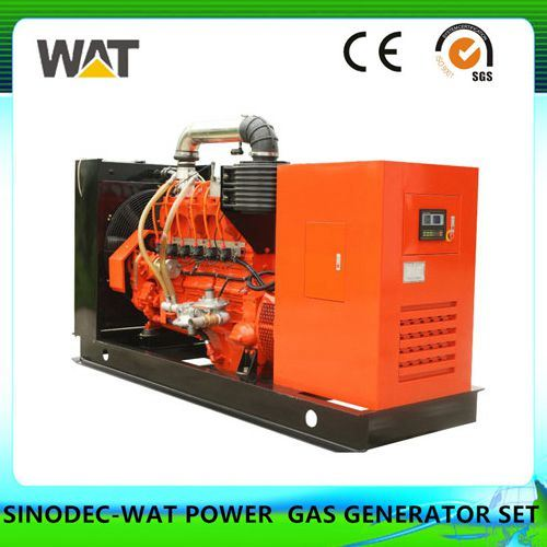 150kw Cummins Series Biogas Generator Set AC Three Phase Output