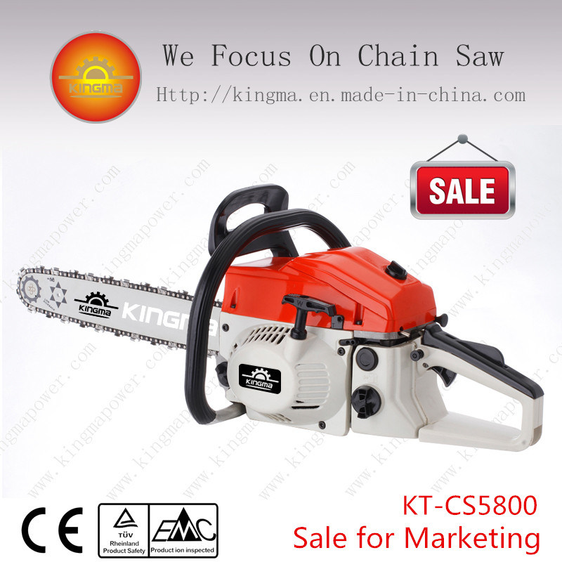 "Chain Saw with 58cc and 22"" Guide Bar and Saw Chain"