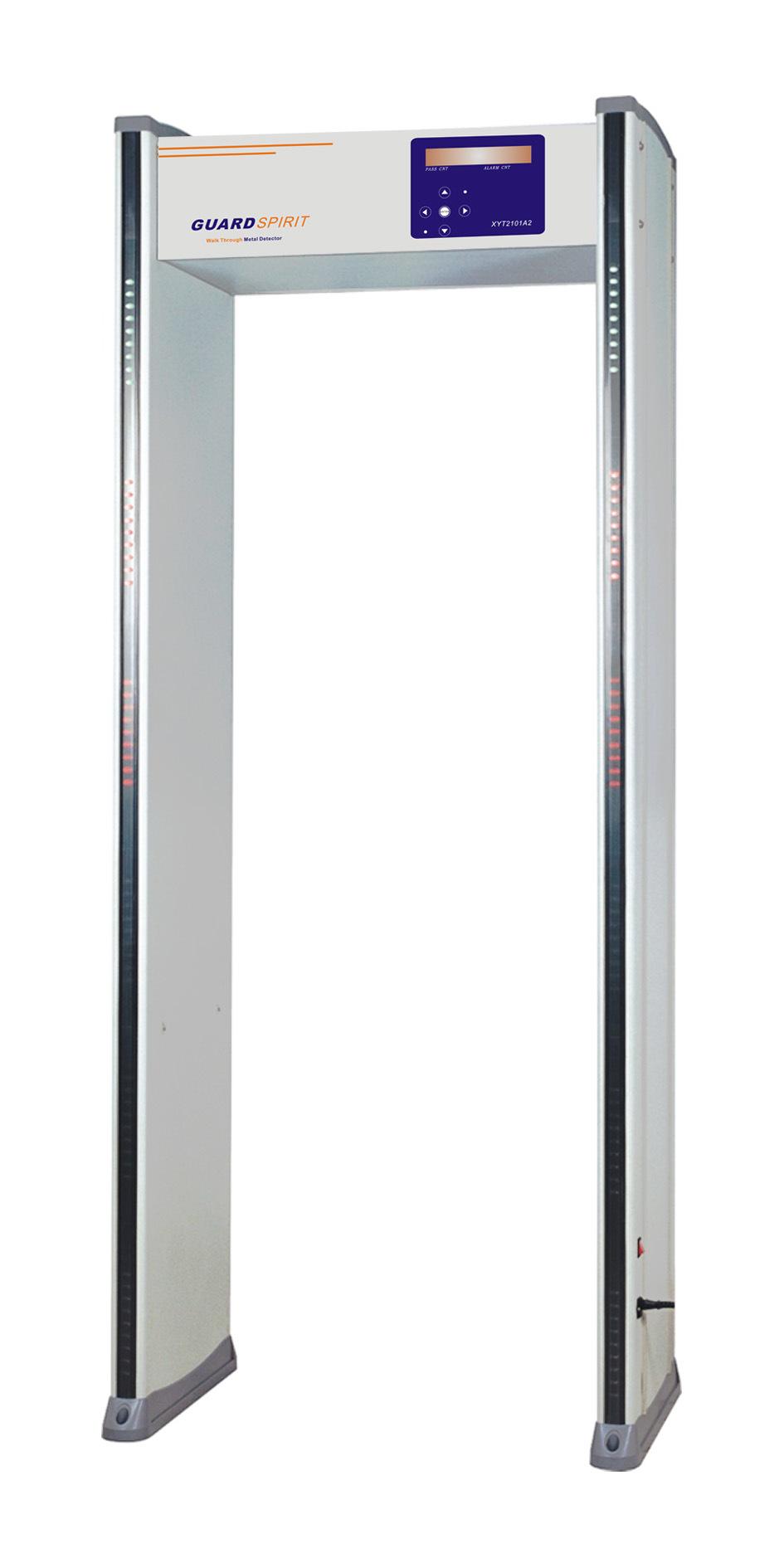 Popular Products 6 Zones Walk-Through Metal Detector Xyt2101A2