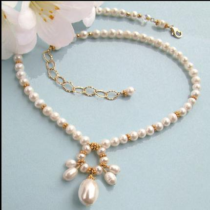 China Handmade Jewelry  Pearl Necklace  China Costume Jewelry, Pearl