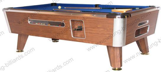 China Coin Operated Pool Table Ns505 China Coin