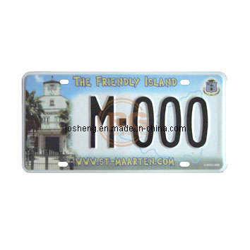 License Plate (St. Maarten 01)