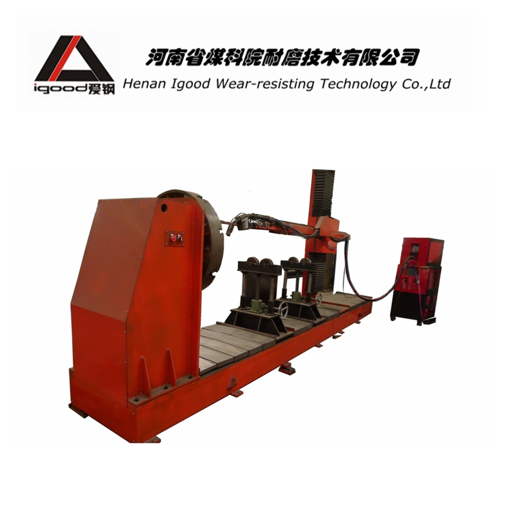 Variable Pressure Cold Metal Welding Equipment for Inner Wall