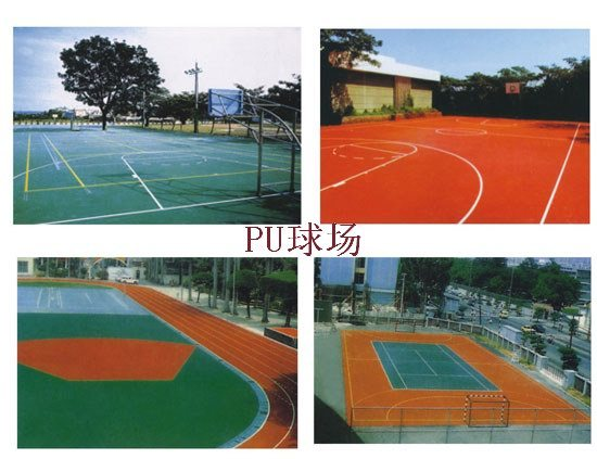 Outdoor Polyurethane Weathering Resistant Floor Paint (JD-800)