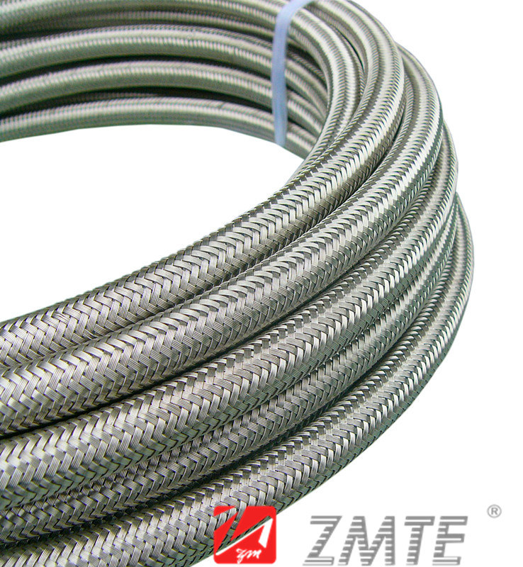 Pressure Stainless Steel Wire Braid PTFE Teflon Hose