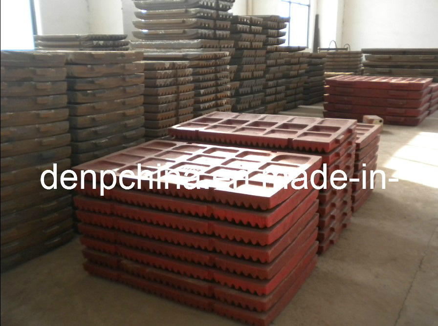Jaw Crusher Jaw Plate in Good Quality