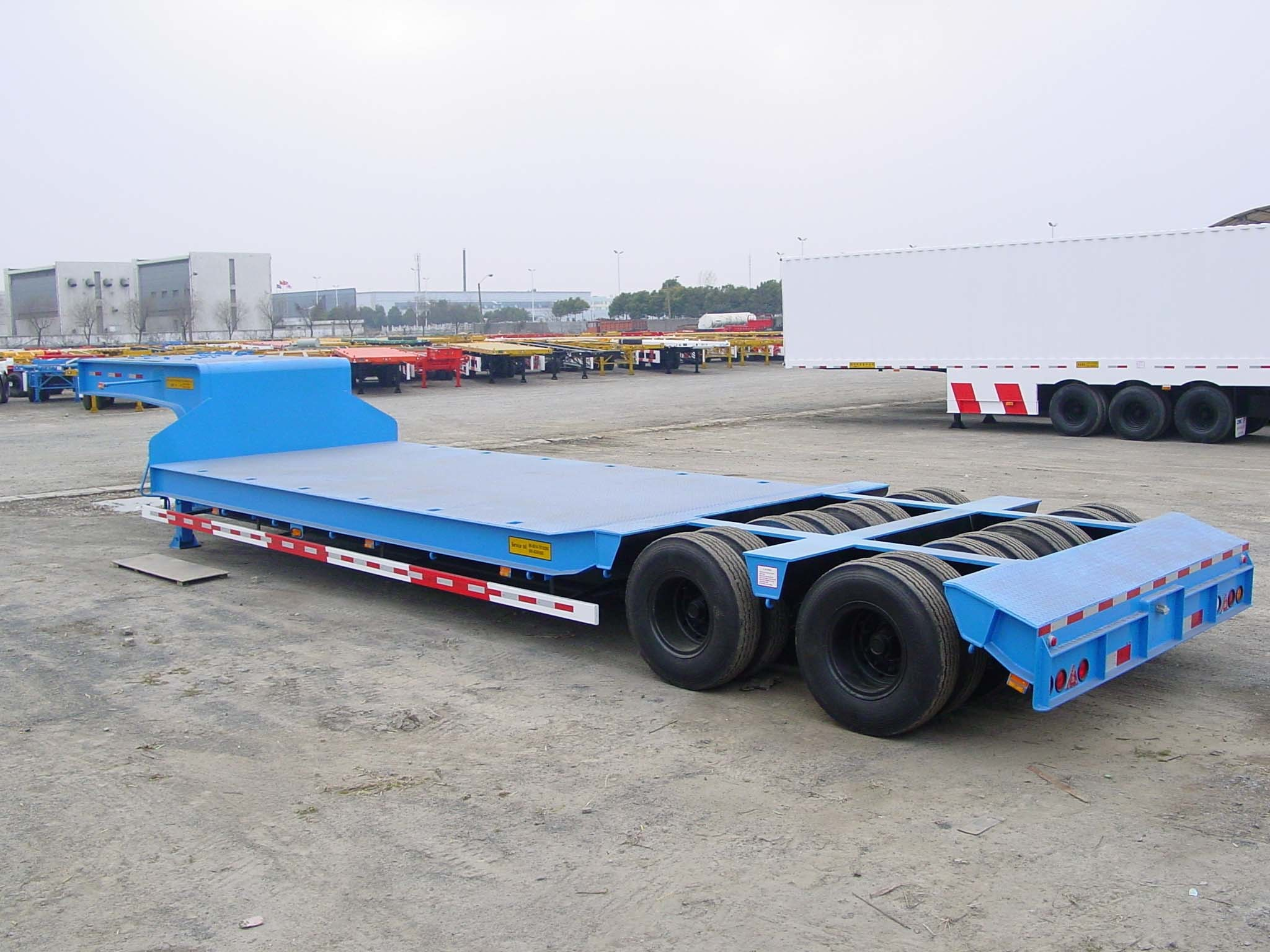 Semi Truck Flatbed Trailer Semi Truck With Flatbed