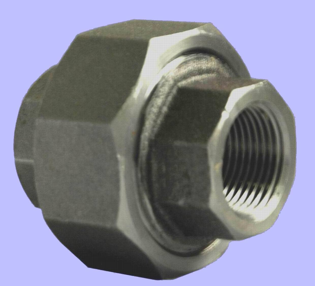 China forged steel pipe fitting threaded union