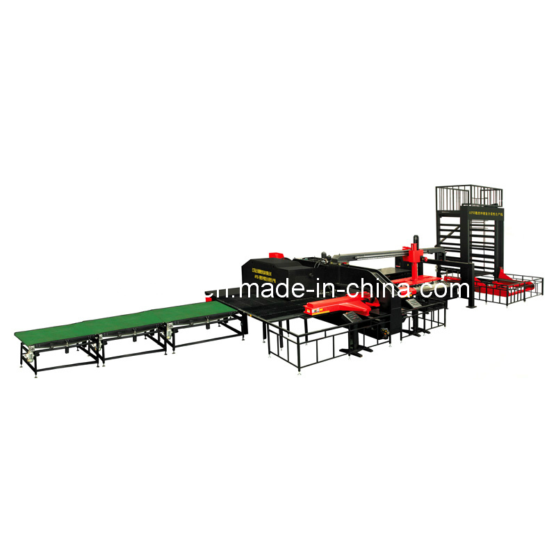 APSS CNC Punch-Shearing Combined FMS (Single-Column Warehouse)