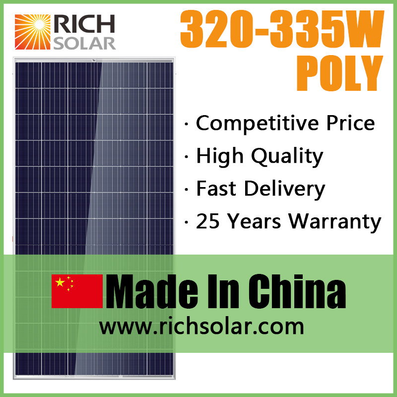 320W Poly PV Photovoltaic Solar Module Solar Panel Solar System
