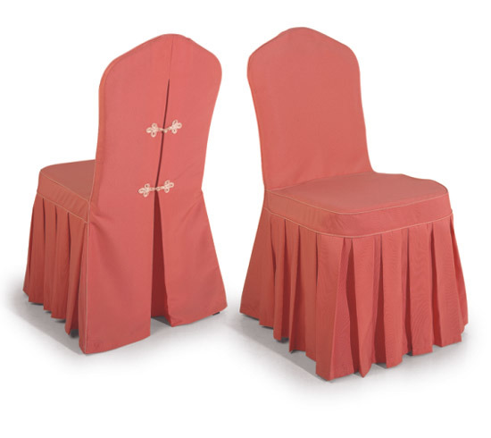 China Banquet Chair Cover Chair Cover with Pleats China