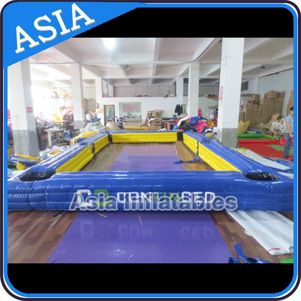Custom Made Inflatable Snooker Ball Games/Inflatable Billiards Table Sport Games