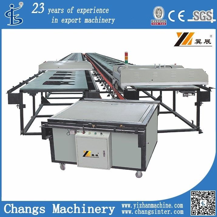 Automatic Flat Bed Screen Printing Machine for T-Shirt/Garment/Clothing/Fabric/Non-Woven/Plastic Film/Leather/Shoes Vamp/Slipper/Oxford Clothing