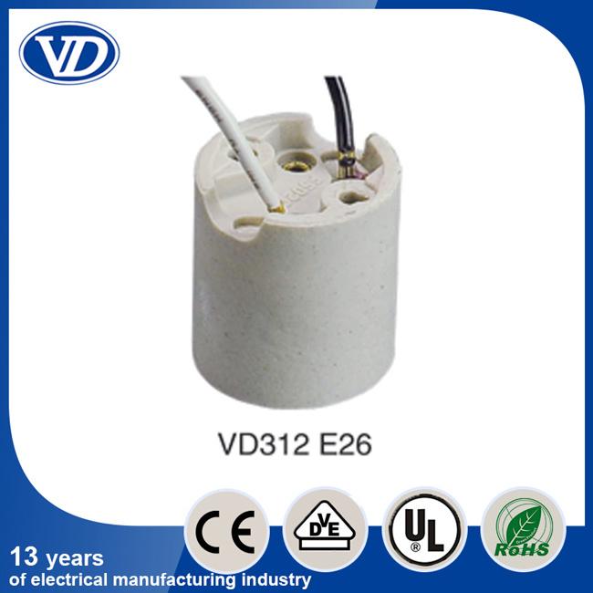 LED Bulb Socket E26 Ceramic Lampholder
