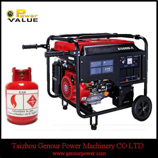 Home Use China 3kw 3kVA LPG Silent Generator for Sale