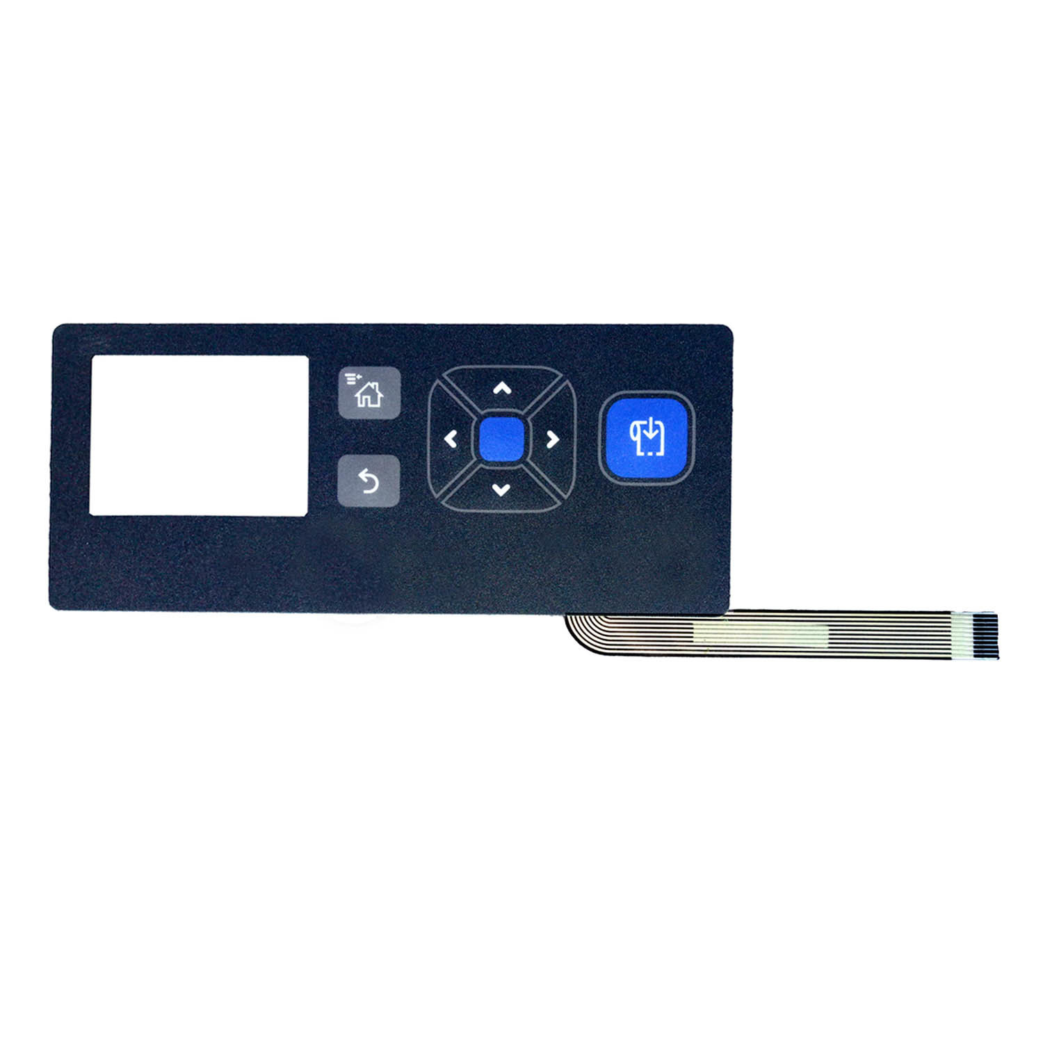 High Quality Membrane Switch with Metal Dome by Singway