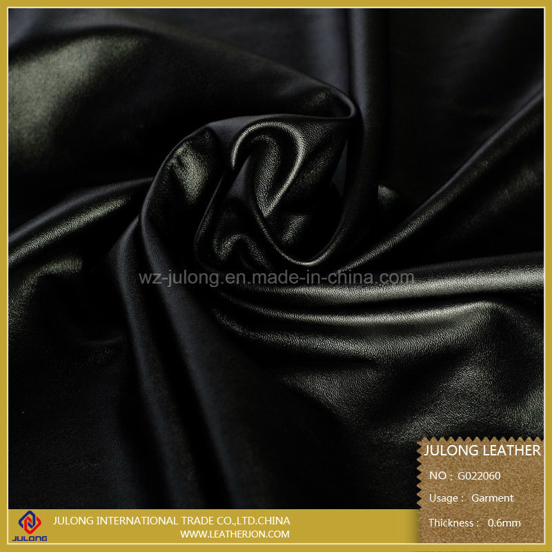 Sheep Grain PU Leather for Garment (G022)