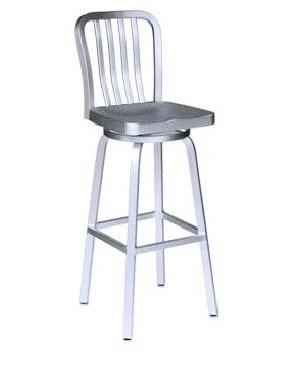 Cast Aluminum Navy Barstool Chair (DC-06103)