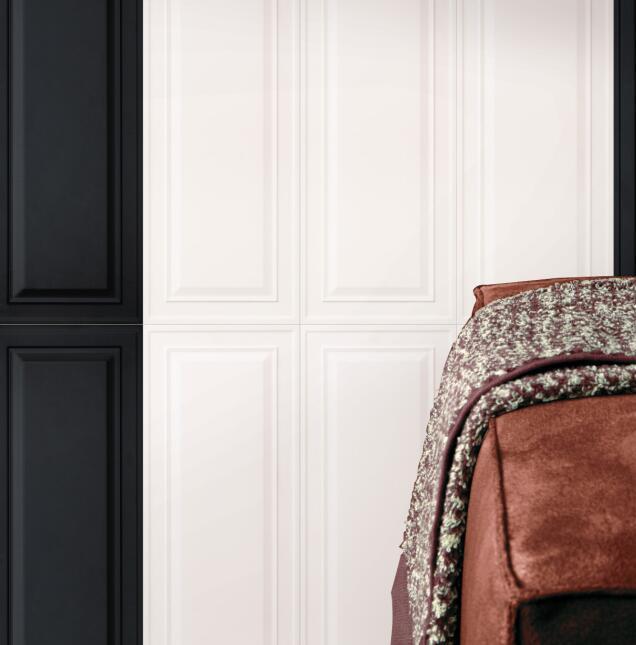 White Glossy Ceramic Wall Tile of 300X900mm for Australia