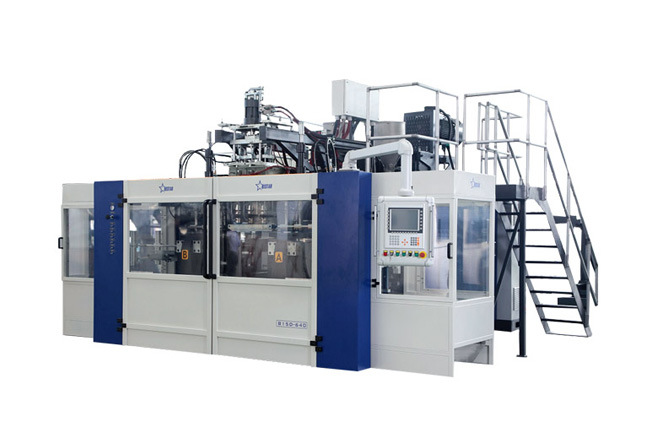 Full Automatic Blow Molding Machine B15D-640 (2 Stations 3 Cavities)