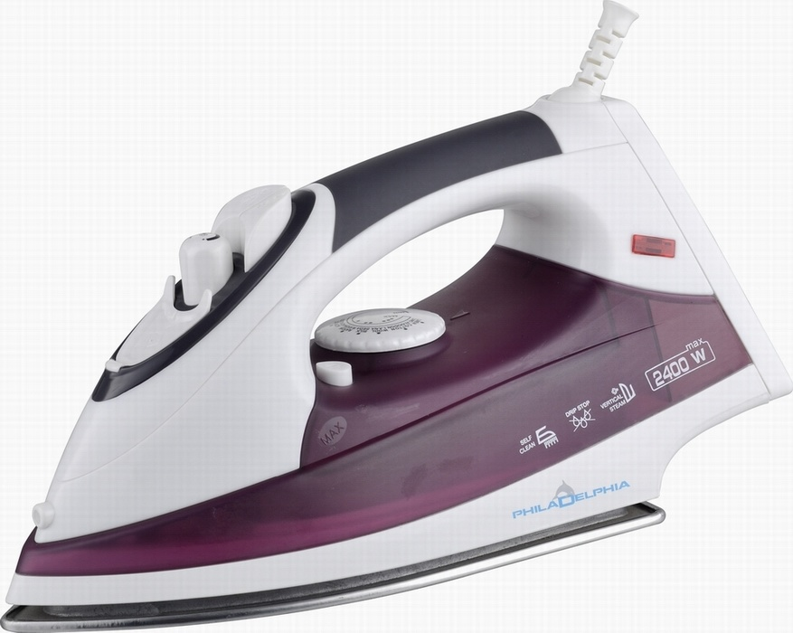 GS Approved Steam Iron (T-610 Black)