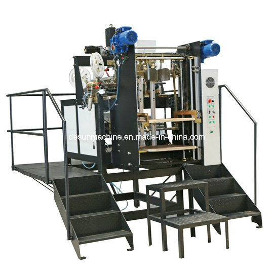 Yx-6418d High Speed Automatic Box Four Corners Taping/Pasting Machine
