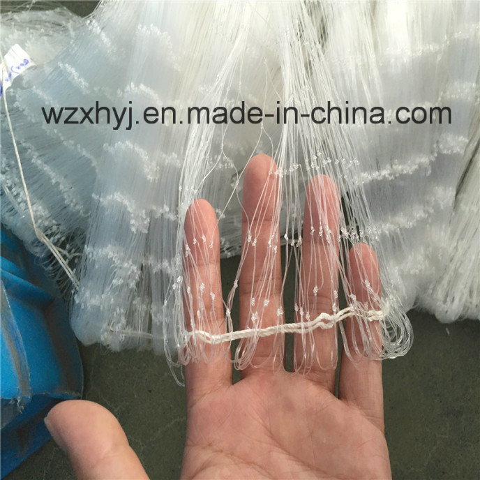 "0.40mmx3 1/2""X70mdx80yds Nylon Monofilament Fishing Net"