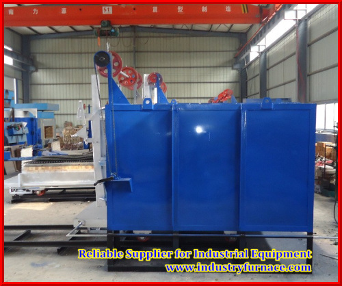 Industiral Tempering Furnace, Resistance Furnace with Trolley