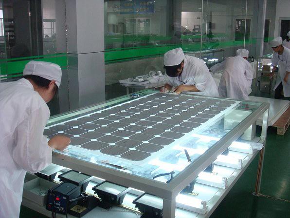 Factory Price Monocrystalline Solar Panel 100W