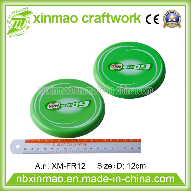 12cm Plastic Frisbee with Logo for Promo