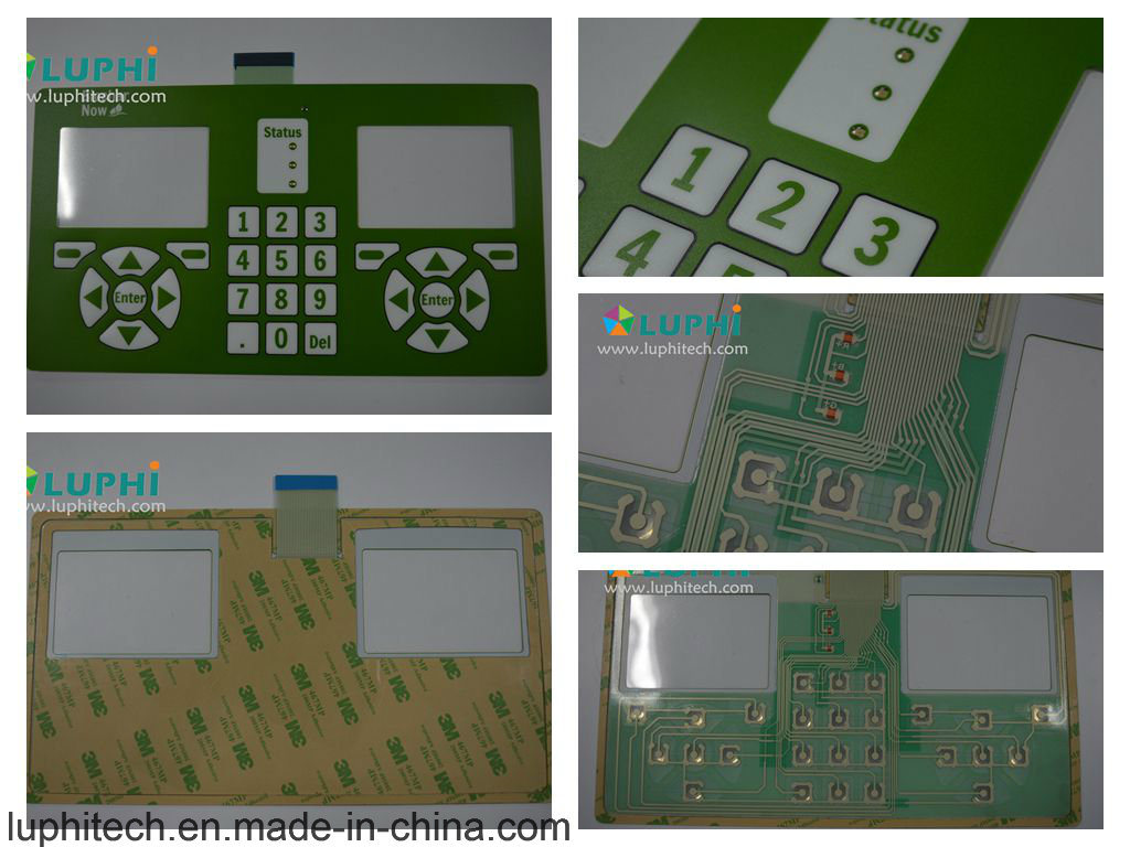 Electric Membrane Switch Control Keyboard Printing Circuit
