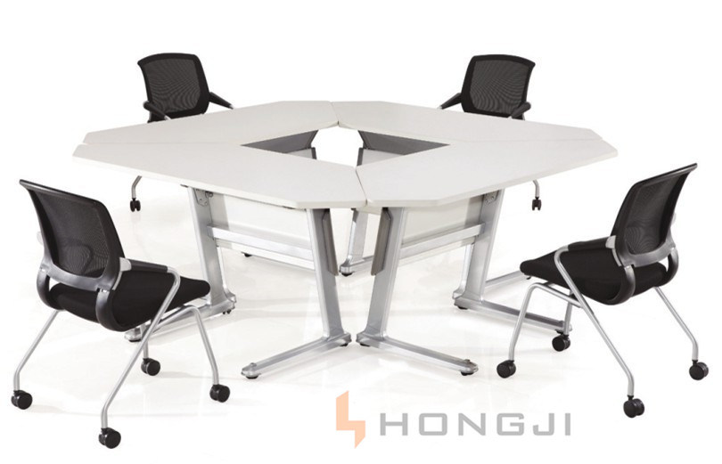 Sectional Office Desk Aluminium Folding Training Table Various Selection for Different Shape in Conference Table