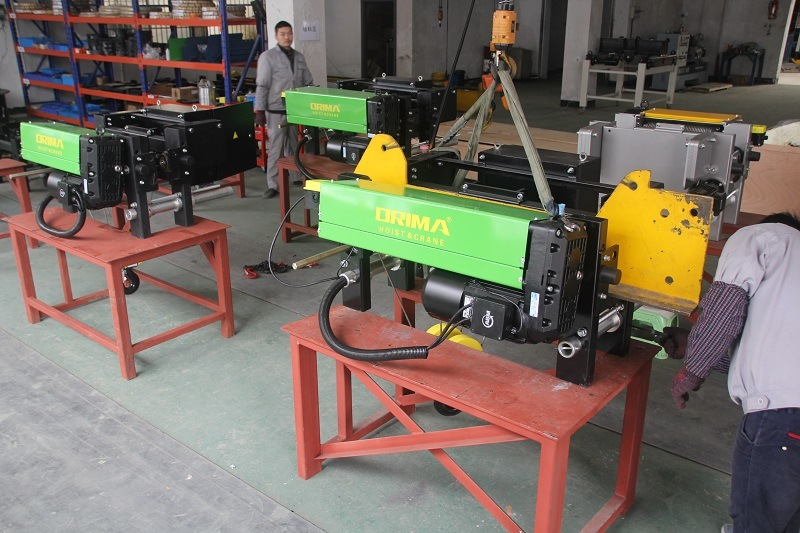European Type 3ton Wire Rope Hoist