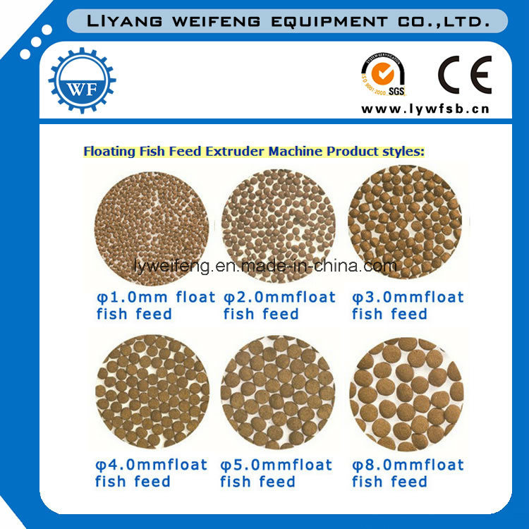 New Advanced Floating Fish Feed Extruder Machine