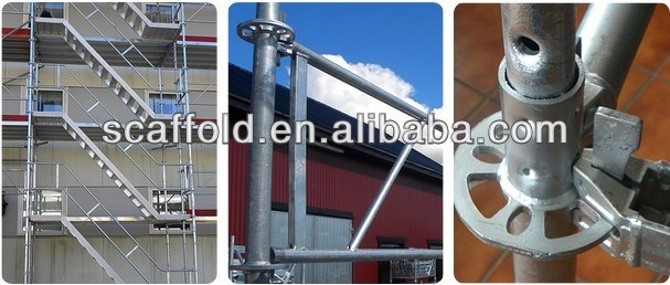 Ringlock Scaffolding System; Galvanized All-Round Scaffolding System