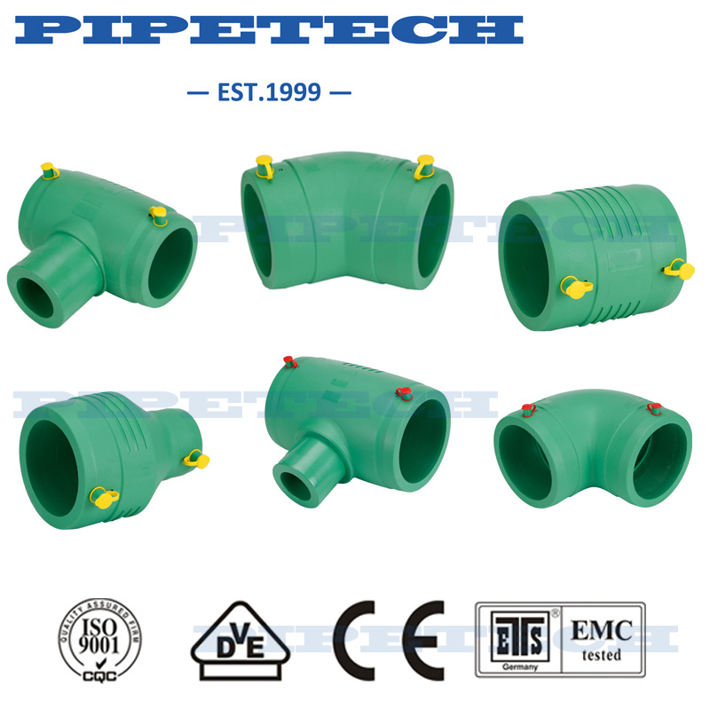Plastic Gas Pipe Electrofusion Fitting