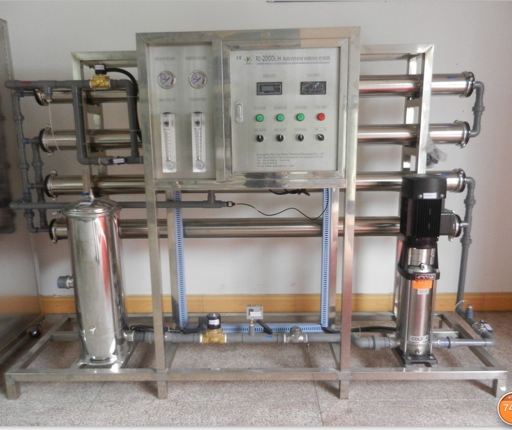 Professional Reverse Osmosis Drinking Water Filter System (2000LPH)