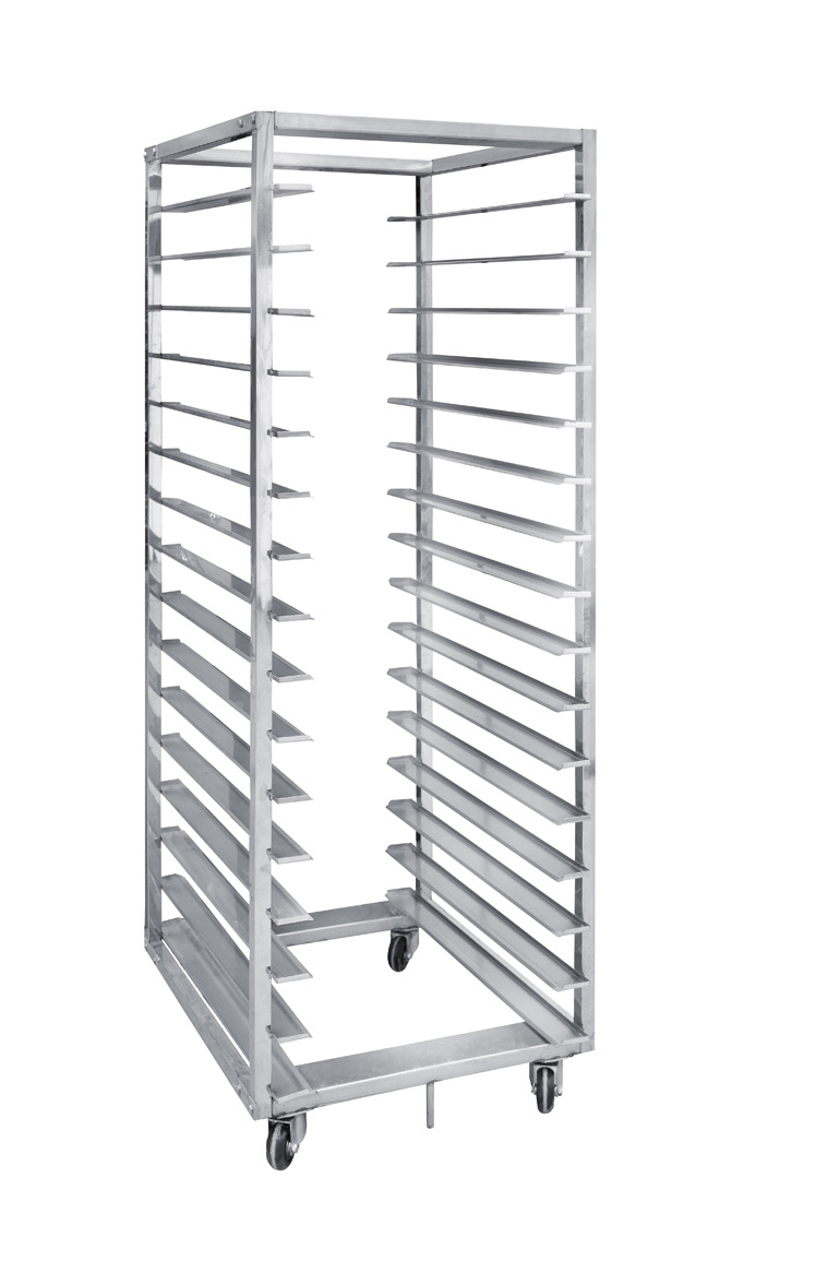 16 Trays Stainless Steel Bakery Trolley/16 Layers Stainless Steel Bread Cooling Rack
