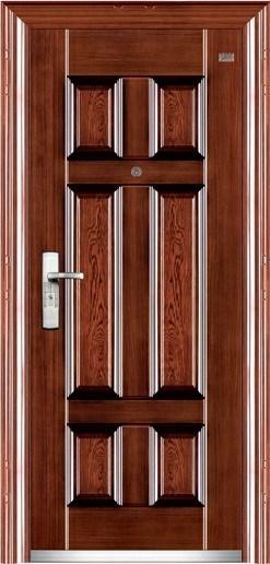 Six Squares Steel Door