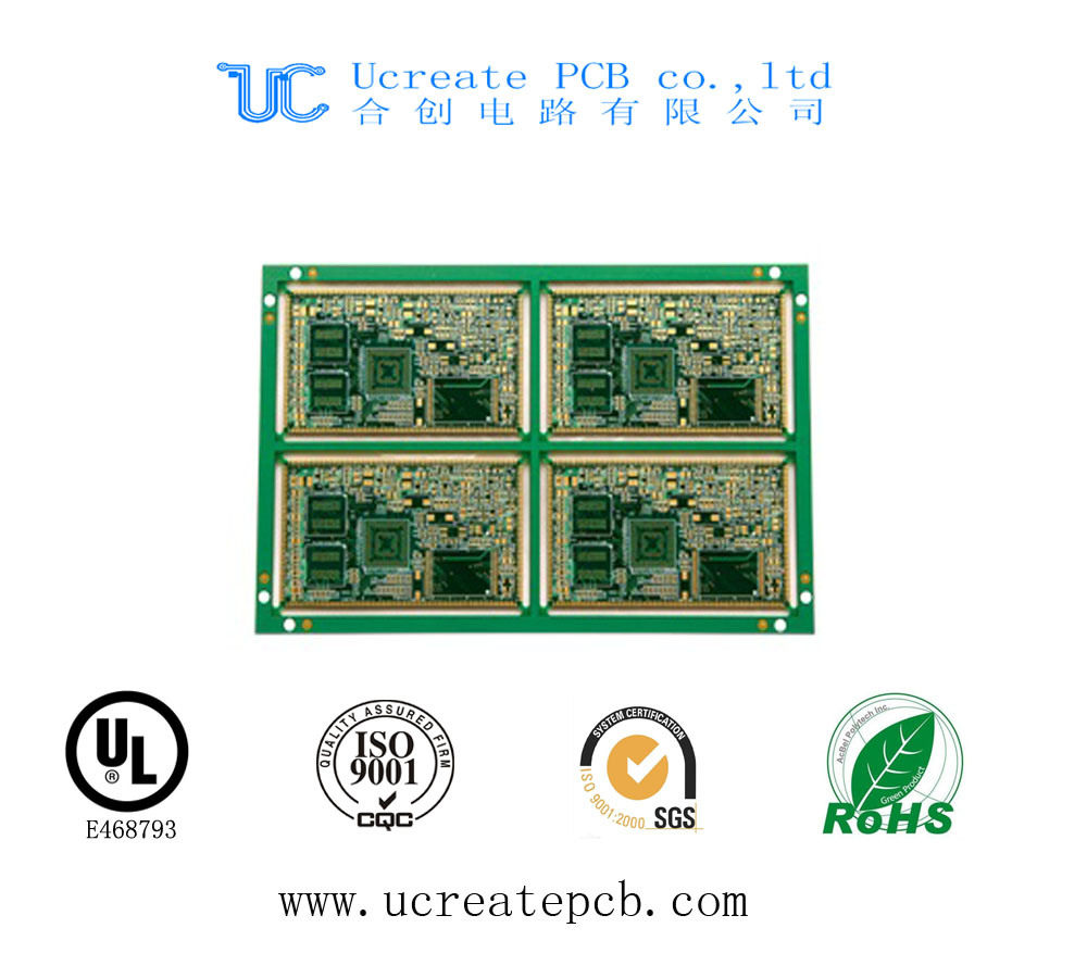 Flexible Professional HDI PWB PCB with UL for Electronic Products