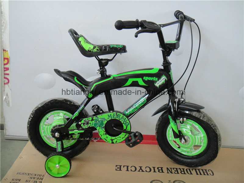 """16"""" New Cheap Four Wheels Bicycle/Bikes for Children"""